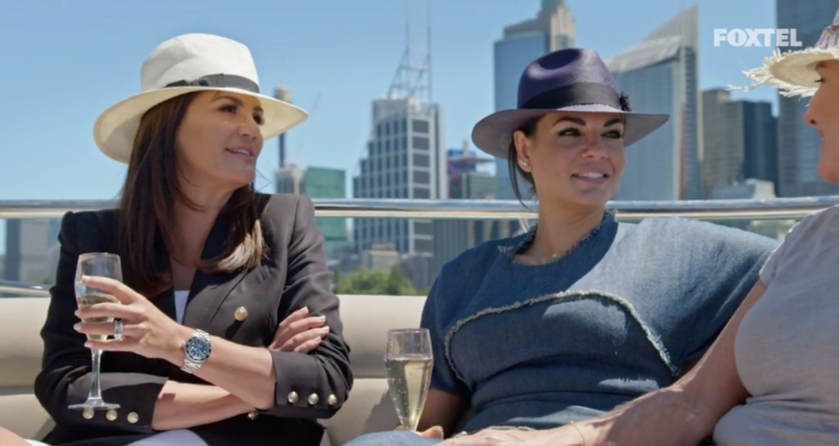 Girls on the Boat - The Real Housewives of Sydney Episode 7 Recap Series 1 RHOS S01E07