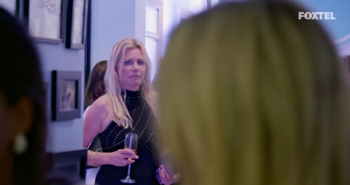 Lizzie Buttrose at Victoria's Wrinkles Schminkles Event - The Real Housewives of Sydney Episode 7 Recap Series 1 RHOS S01E07