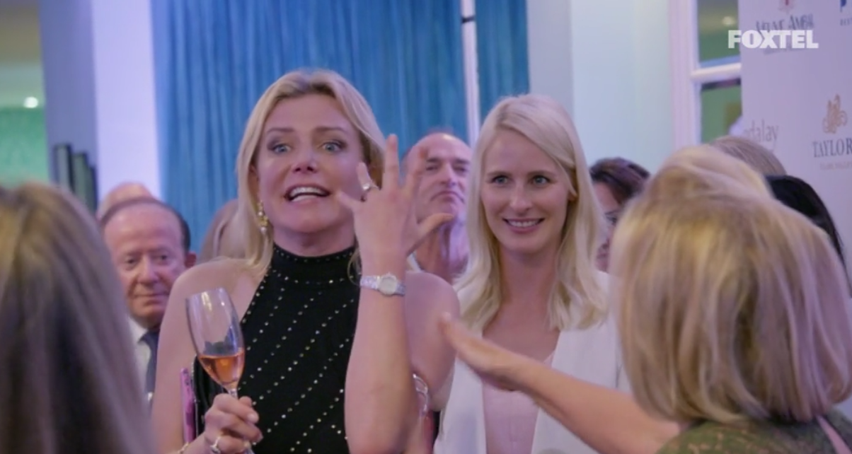 Lizzie Buttrose goes crazy at Victoria's event - The Real Housewives of Sydney Episode 7 Recap Series 1 RHOS S01E07