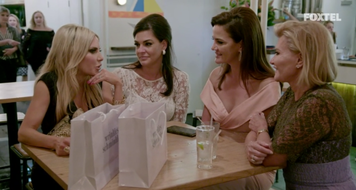 Melissa announces that she wants the girls to join her in Singapore - The Real Housewives of Sydney Episode 7 Recap Series 1 RHOS S01E07
