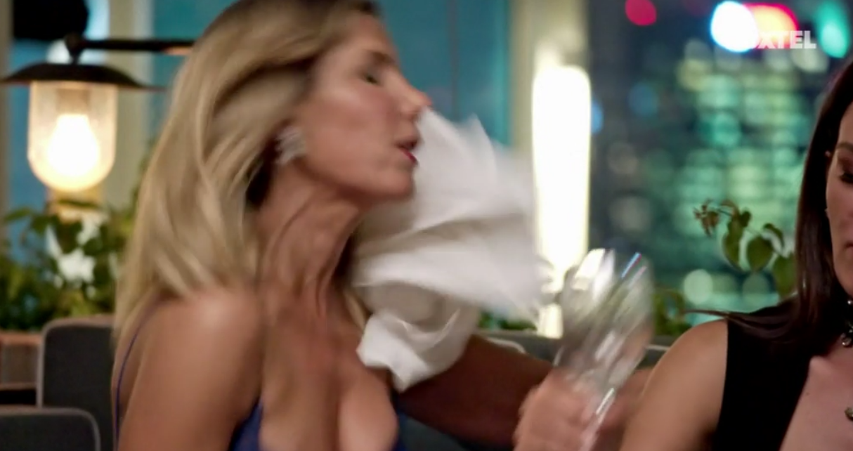 Victoria throws the Napkin at AthenaX - The Real Housewives of Sydney Episode 8 Recap Series 1 RHOS S01E08