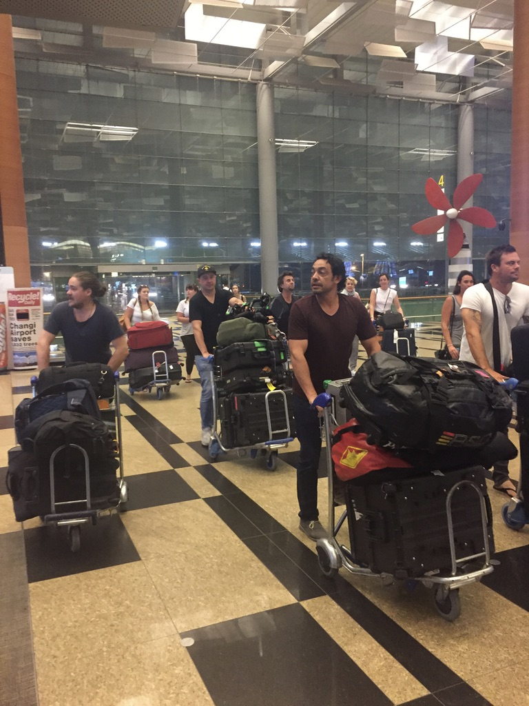 Behind the Scenes of The Real Housewives of Sydney Episode 8 - All the luggage.jpg