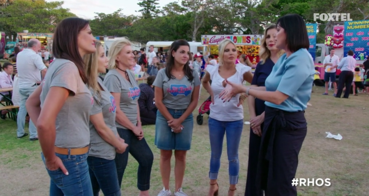 """Victoria's """"intervention"""" at The Food Truck Fund Event - The Real Housewives of Sydney Episode 10 Recap Season 1"""