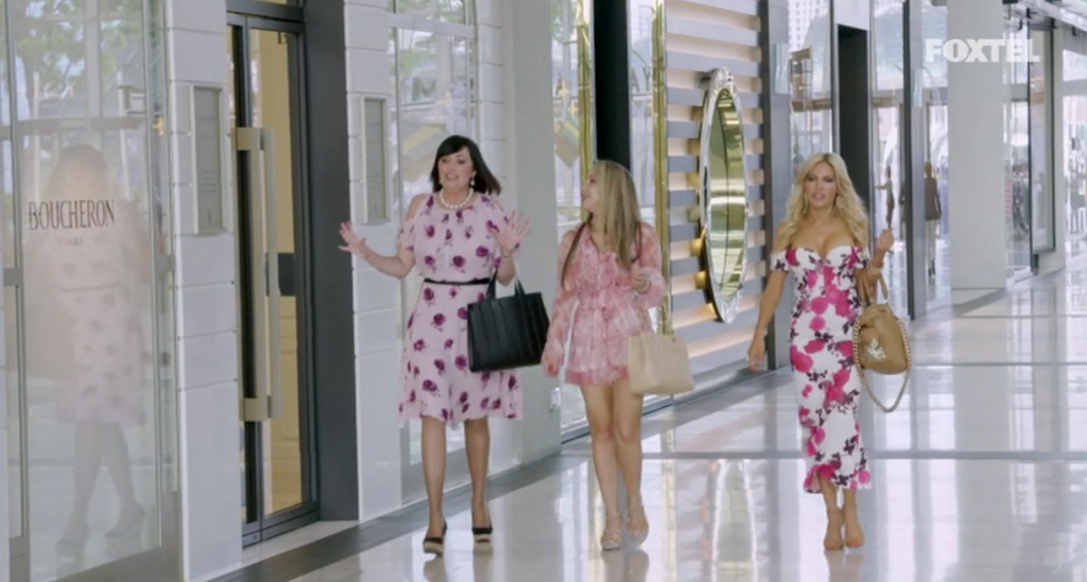 Lisa Matty and Melissa go shopping - The Real Housewives of Sydney Episode 10 Recap Season 1