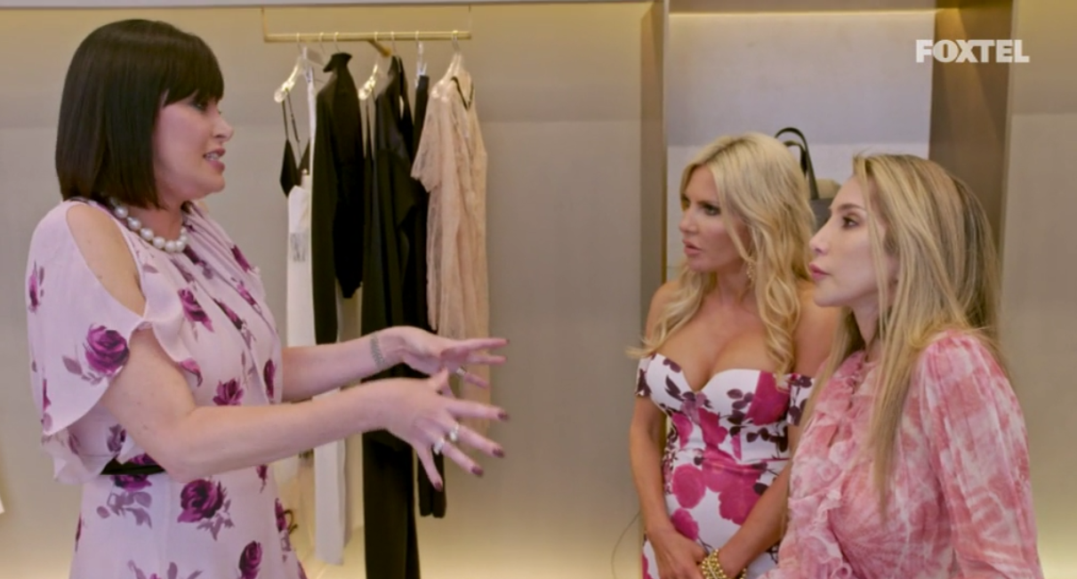 The girls talk about Lizzie - The Real Housewives of Sydney Episode 10 Recap Season 1