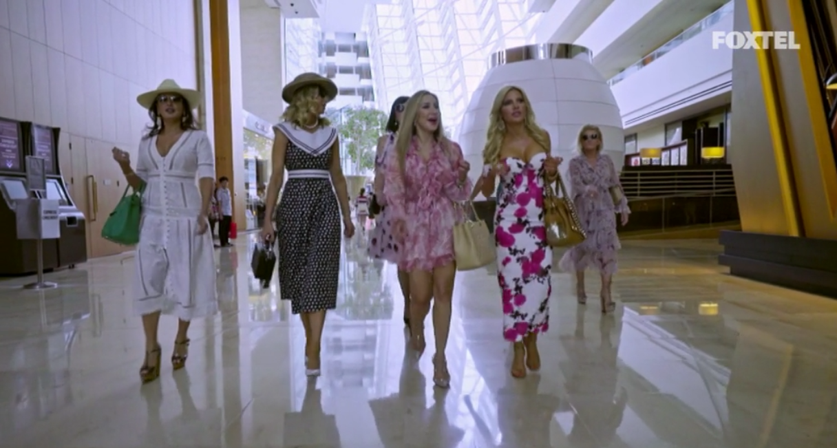 The girls go for lunch - The Real Housewives of Sydney Episode 10 Recap Season 1