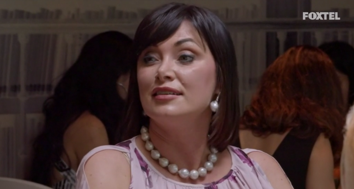Lisa denies she sent Lizzie Buttrose - The Real Housewives of Sydney Episode 10 Recap Season 1
