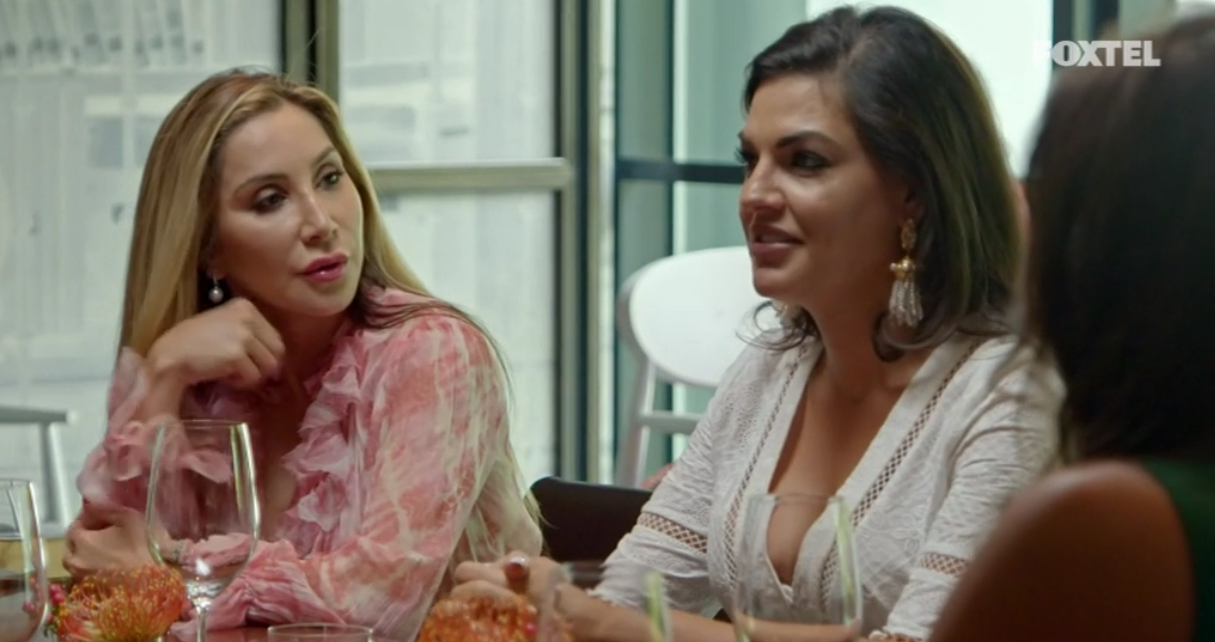 Nicole at lunch - The Real Housewives of Sydney Episode 10 Recap Season 1