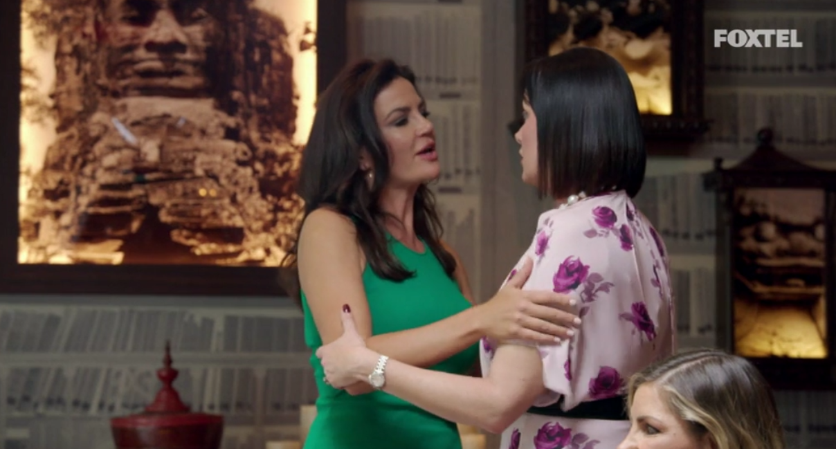 Lisa apologises to Krissy - The Real Housewives of Sydney Episode 10 Recap Season 1