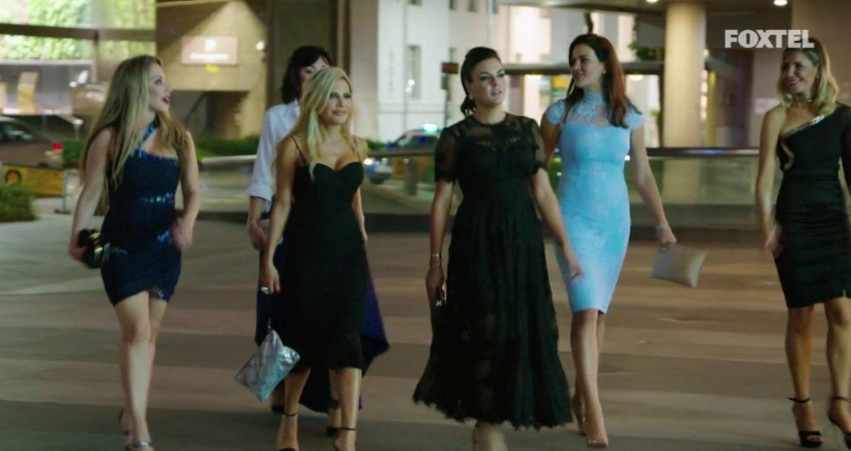 Girls head to the Empire Lounge - The Real Housewives of Sydney Episode 10 Recap Season 1