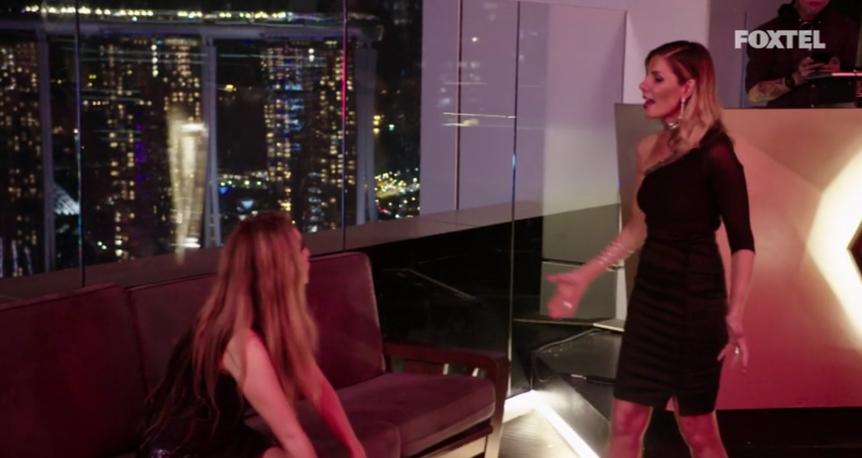 AthenaX slams the table - The Real Housewives of Sydney Episode 10 Recap Season 1