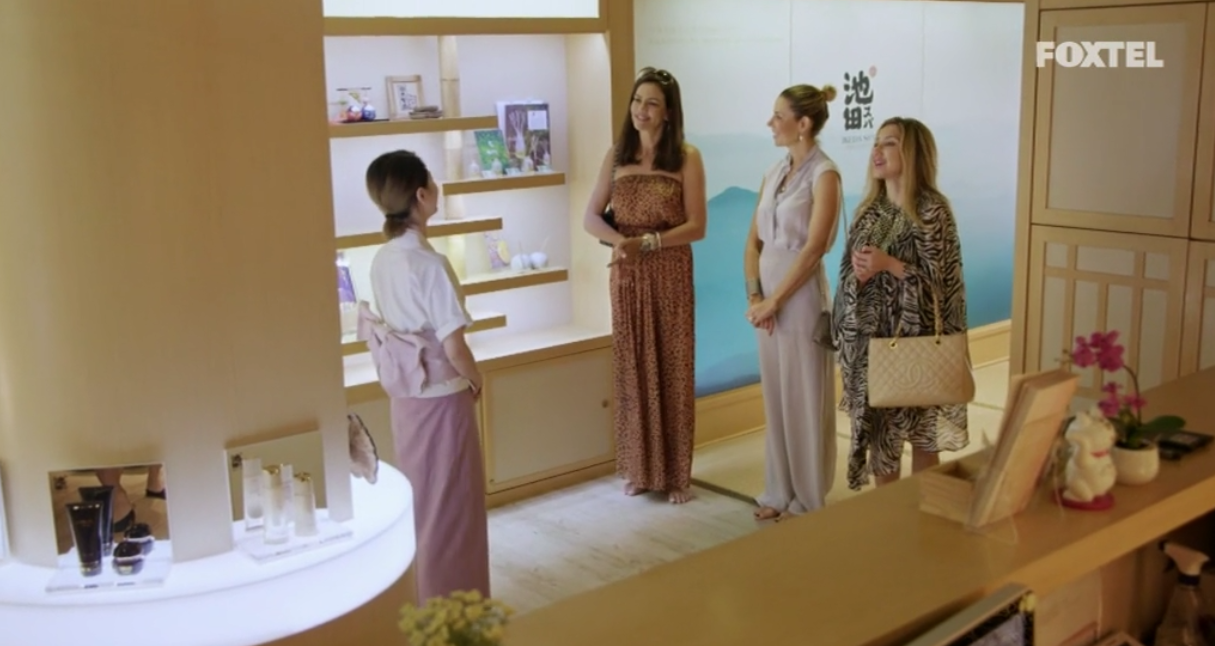 Krissy Matty and AthenaX go to the beauty spa - The Real Housewives of Sydney Episode 10 Recap Season 1