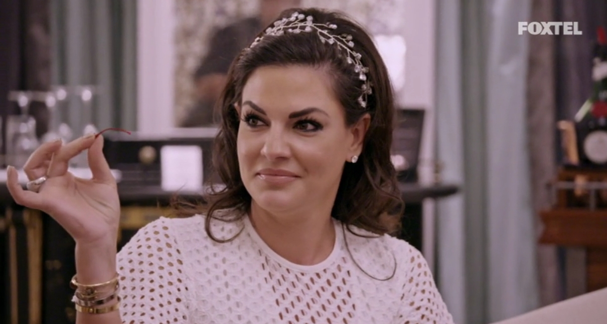 Nicole shows off her party trick - The Real Housewives of Sydney Episode 10 Recap Season 1