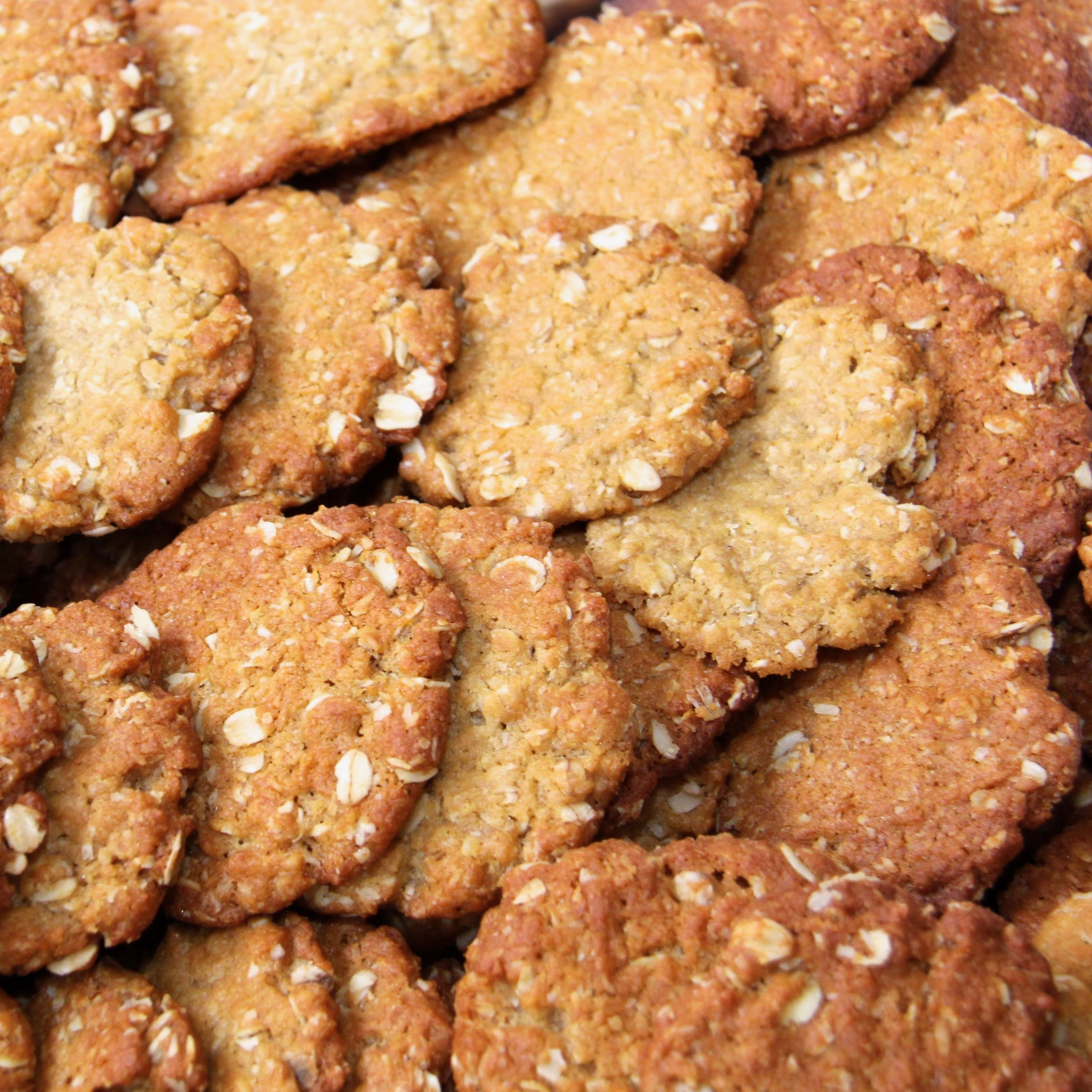 The Best Australian ANZAC Cookie Recipe - Traditional ANZAC Biscuits