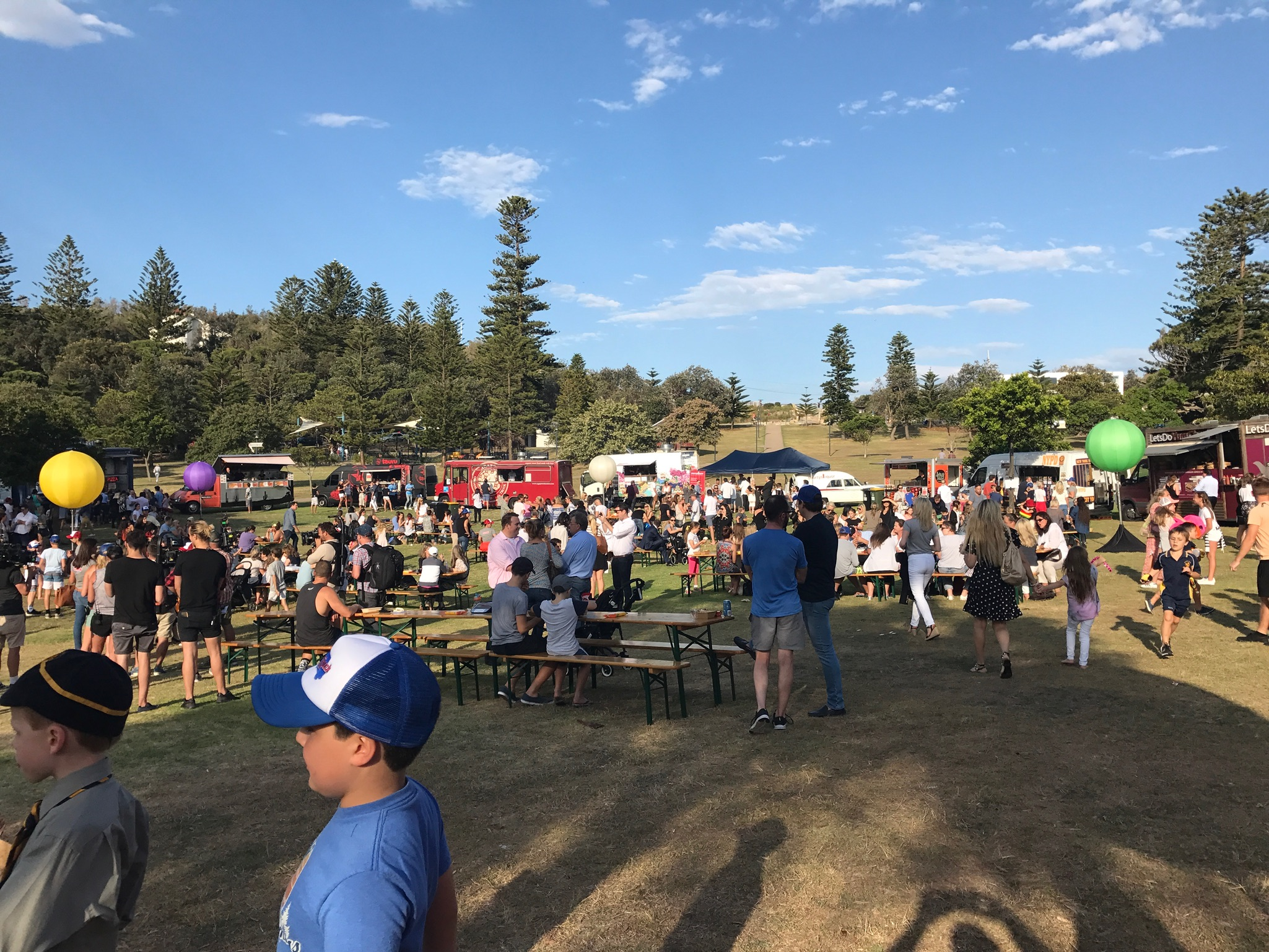 The Food Truck Fund 2016 - Fundraising Event for Cure Brain Cancer at Watson's Bay