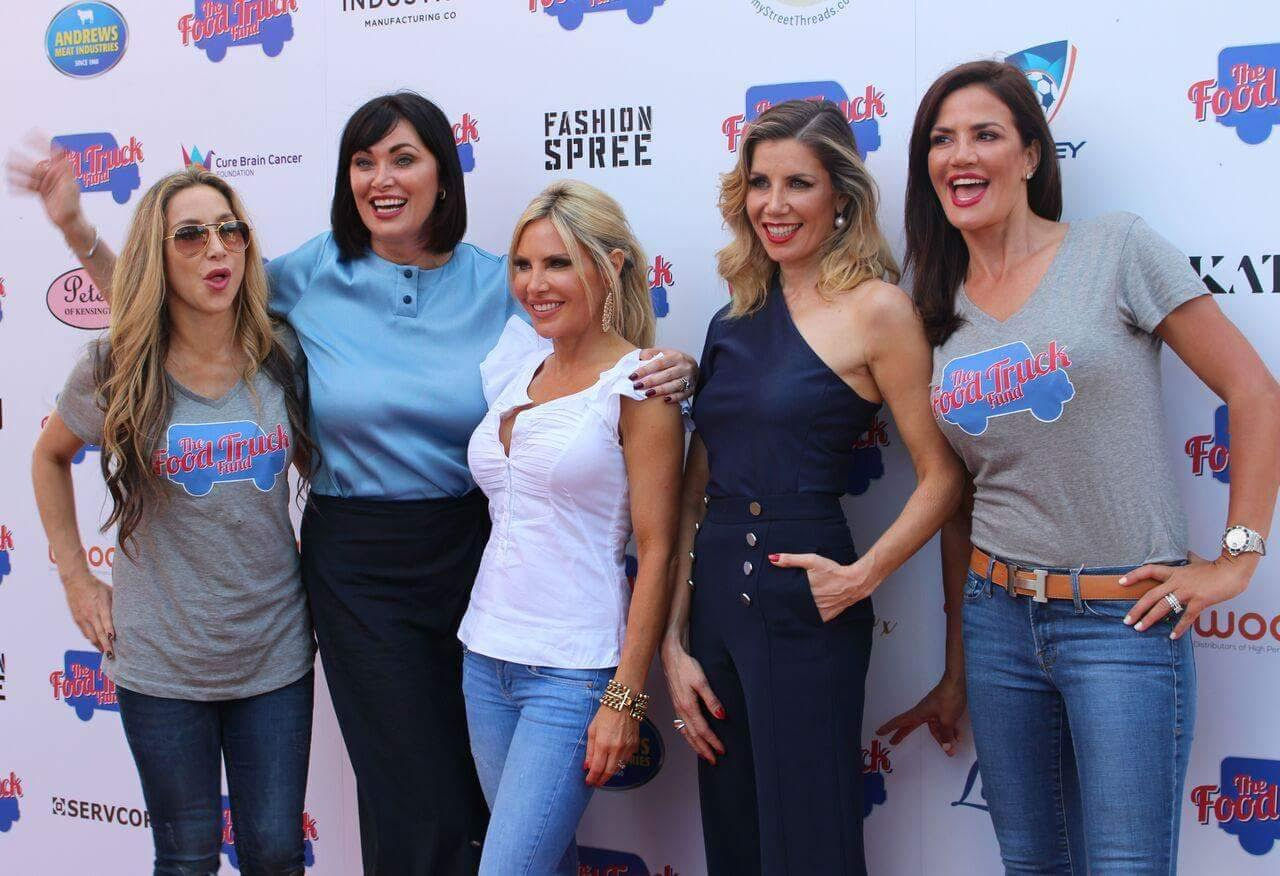 The Real Housewives of Sydney at The Food Truck Fund Event Watsons Bay