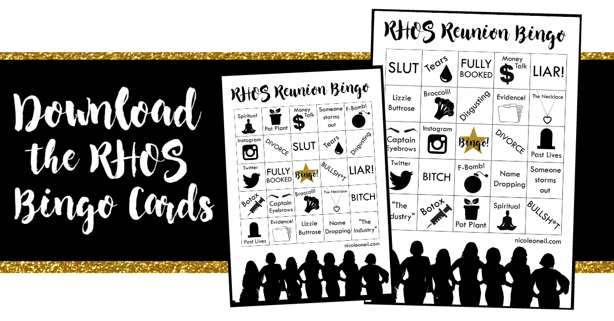 Download RHOS Bingo Cards