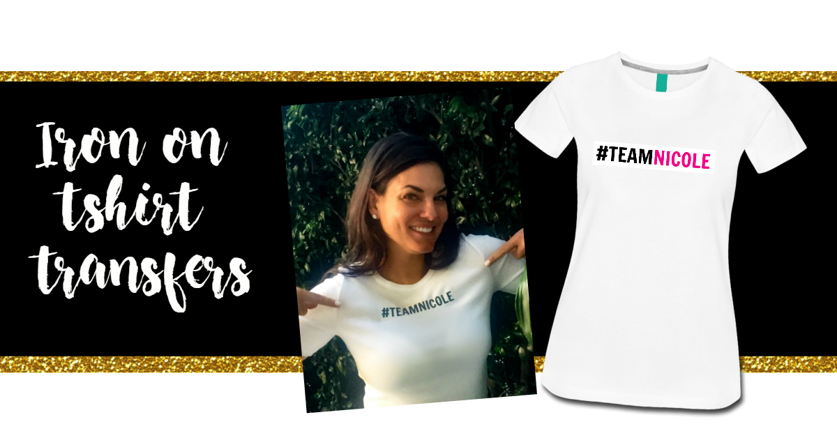 Real Housewives of Sydney Iron On Tshirt Transfers