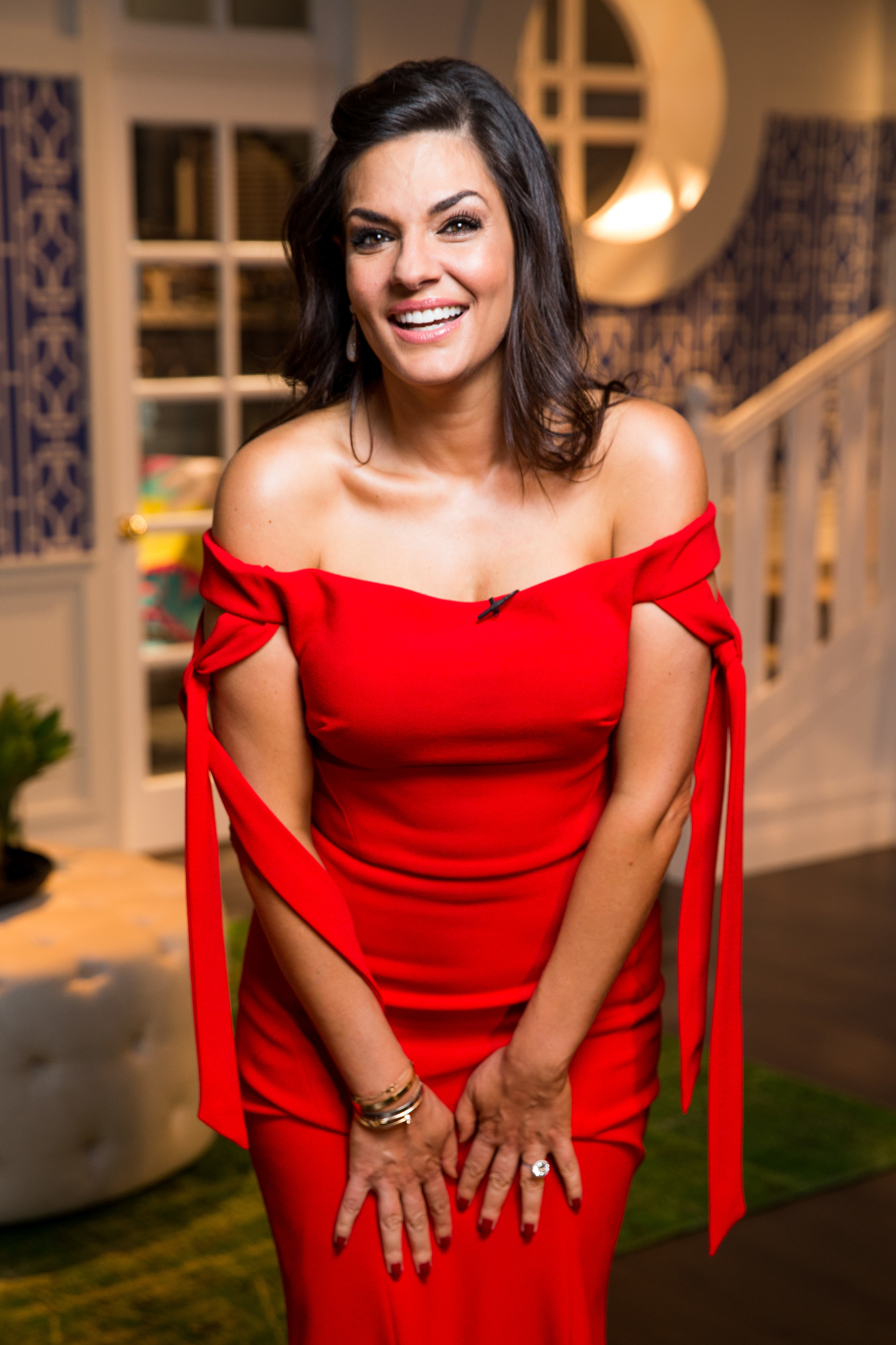 Nicole O'Neil at The Real Housewives of Sydney Reunion 2