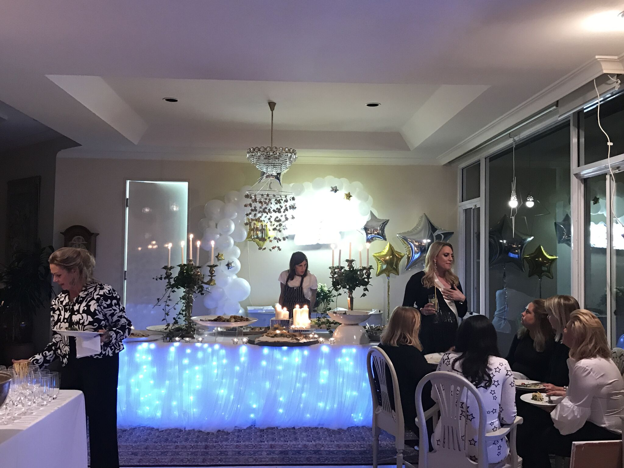 Twinkle Twinkle Little Star Themed Baby Shower - Party Decorations and Set Up