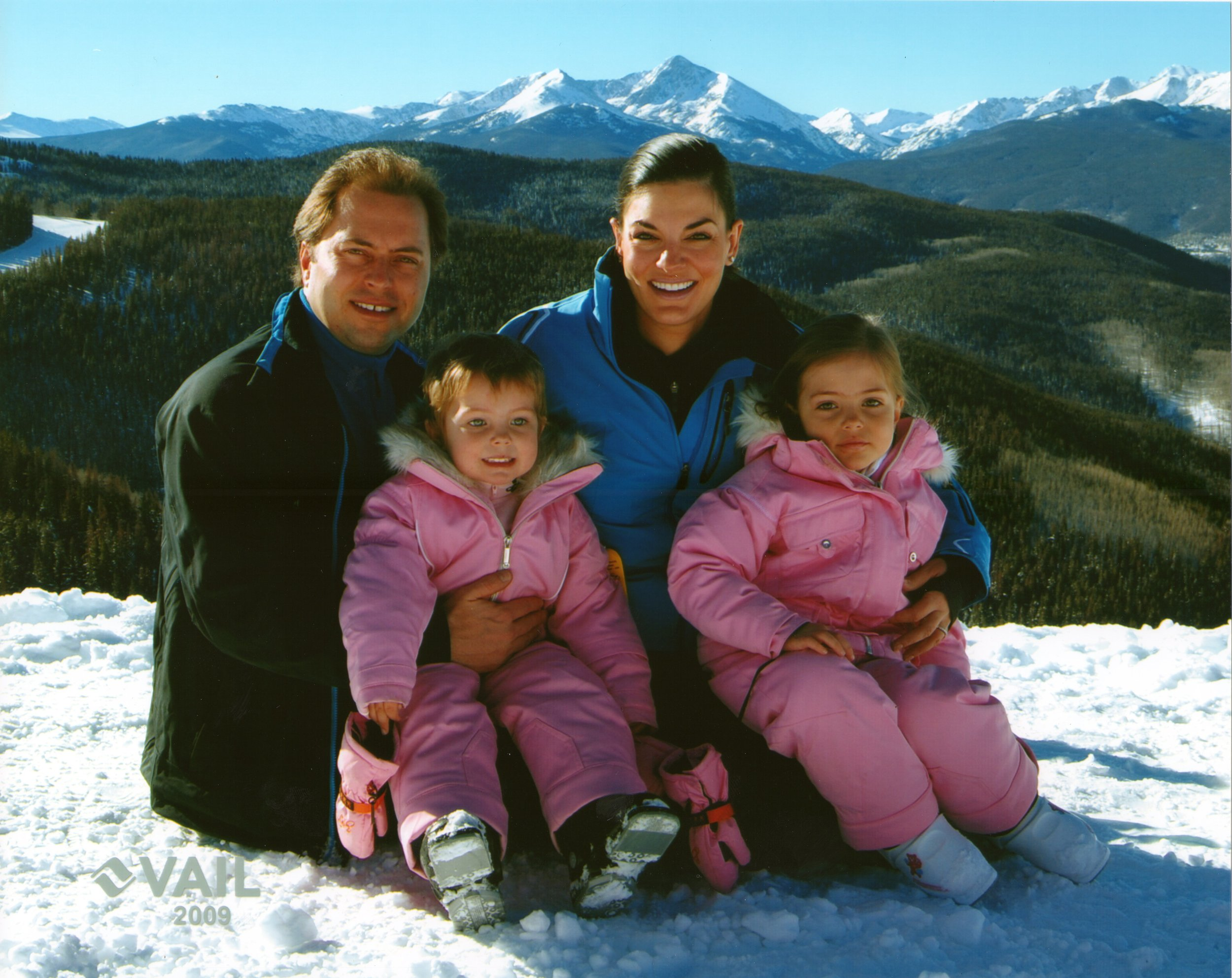 Nicole, Adam, Nawal and Neve in Vail