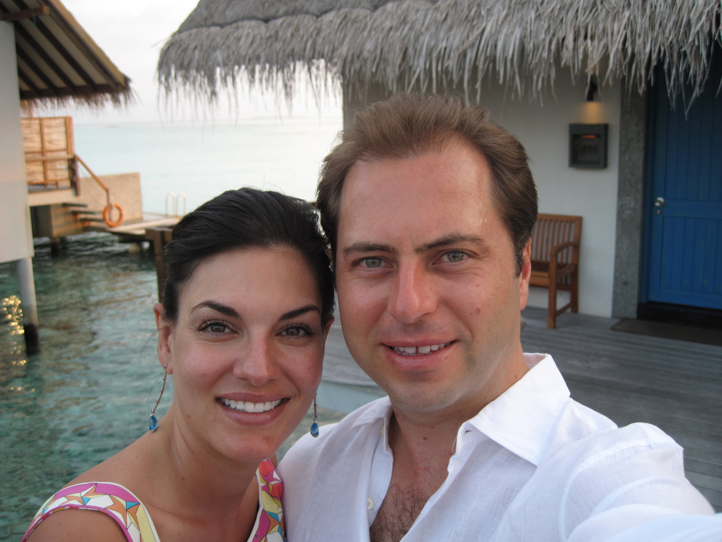 Nicole and Adam on Holidays