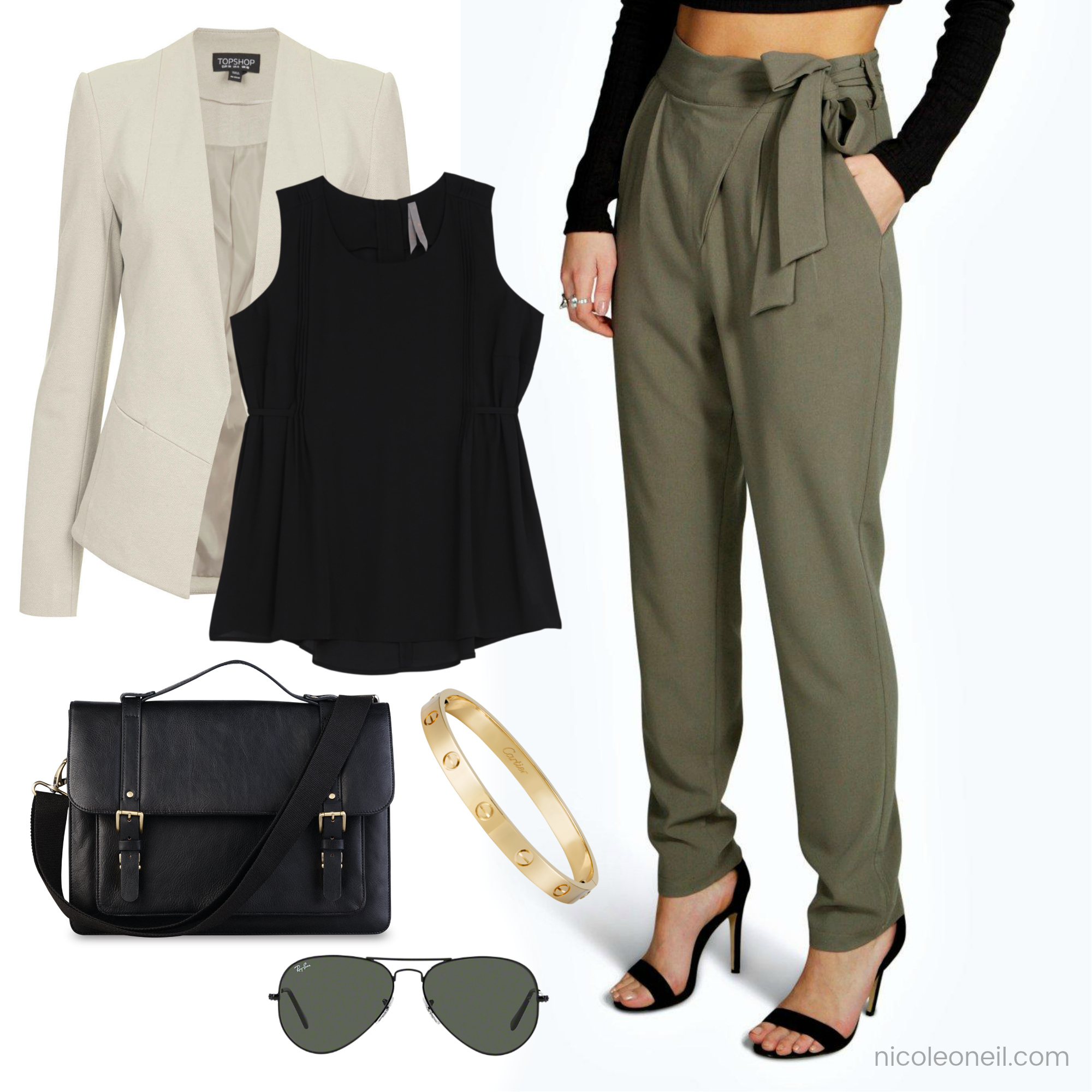 How to Style Khaki  Khaki Outfit for Spring, Fall and Autumn