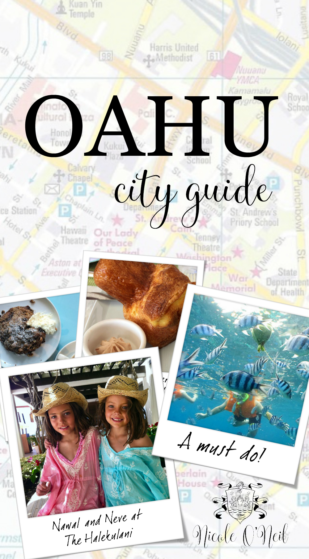 Nicole O'Neil's Complete Travel Guide to Oahu, Hawaii USA - Find out the best places to shop, eat and explore in Oahu as The Real Housewives of Sydney's Nicole O'Neil shares her firsthand experiences and travel snaps in this Oahu City Guide.
