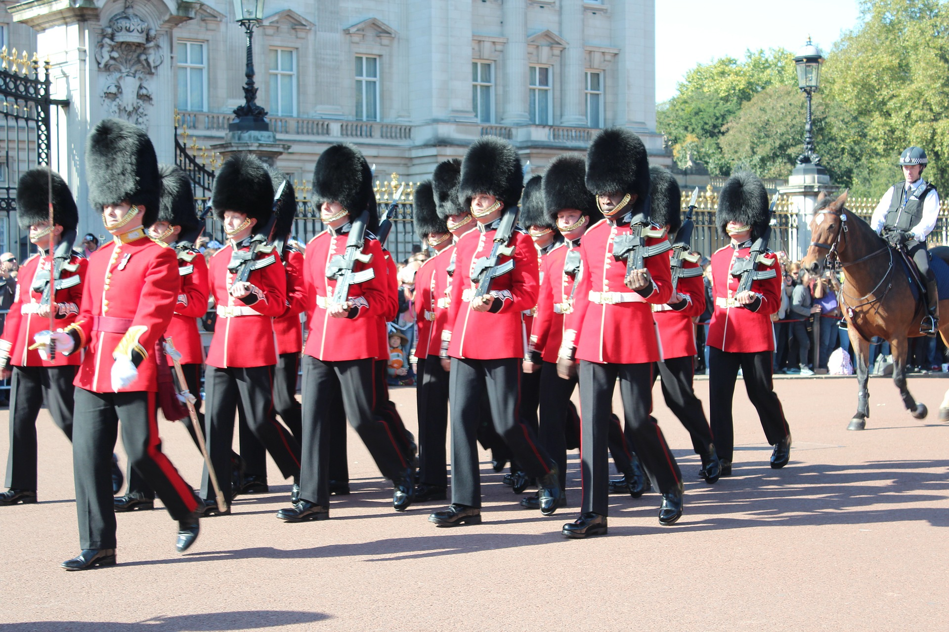 Changing of the Guards Ceremony, Buckingham Palace