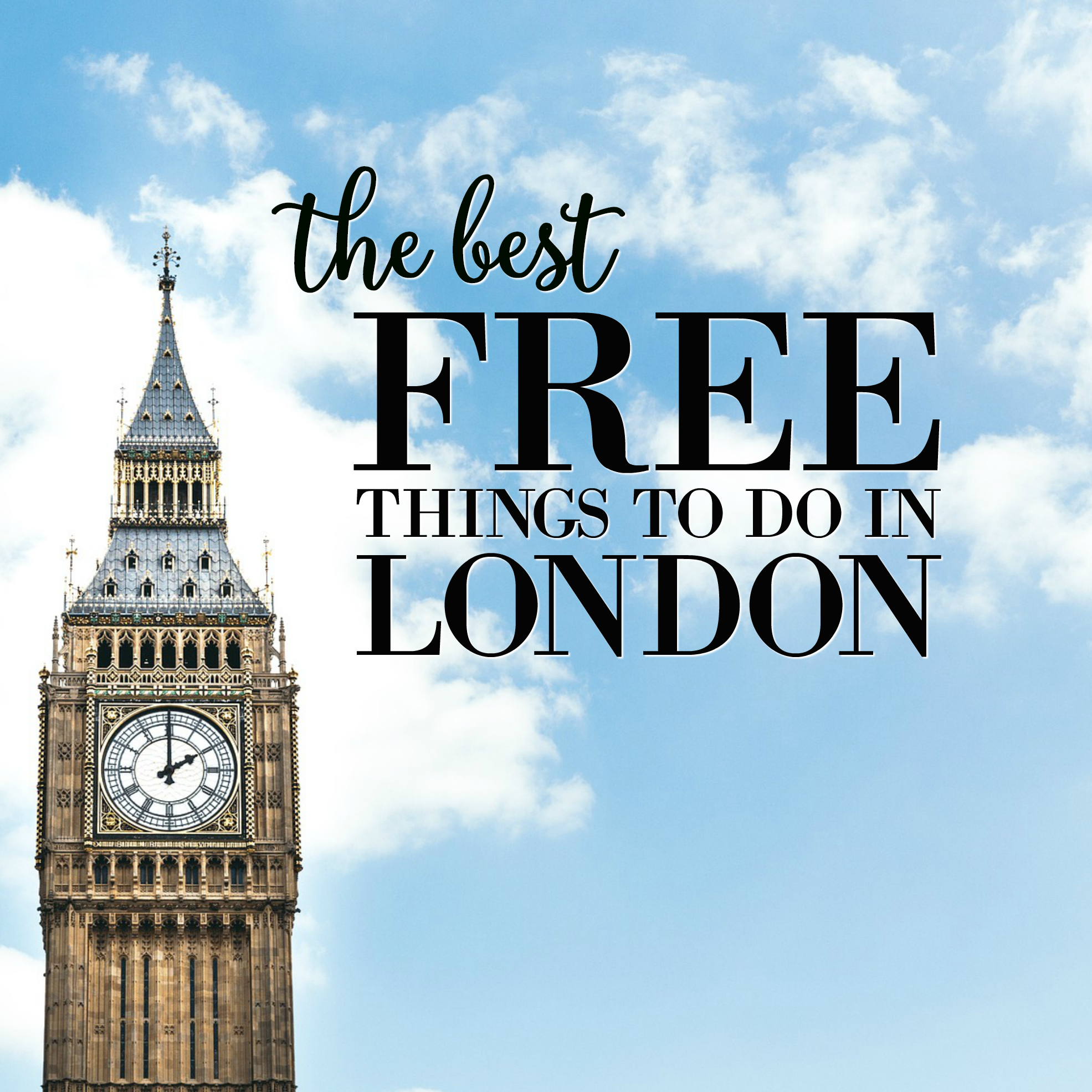 Find out what the best free activities, museums and attracts are in beautiful London with this handy travel guide. Perfect for the budget conscious traveller!