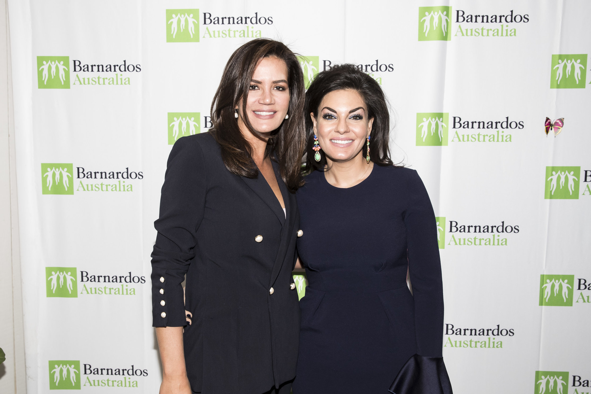 Nicole O'Neil and Krissy Marsh at the Barnados Fundraising Luncheon.jpg