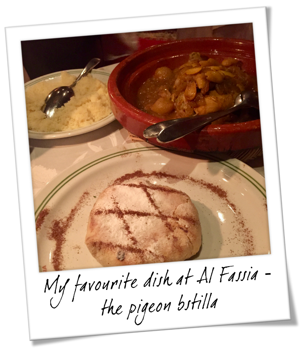 Traditional Foods You Need to Try in Marrakesh Morocco - Pigeon Bstilla at Al Fassia