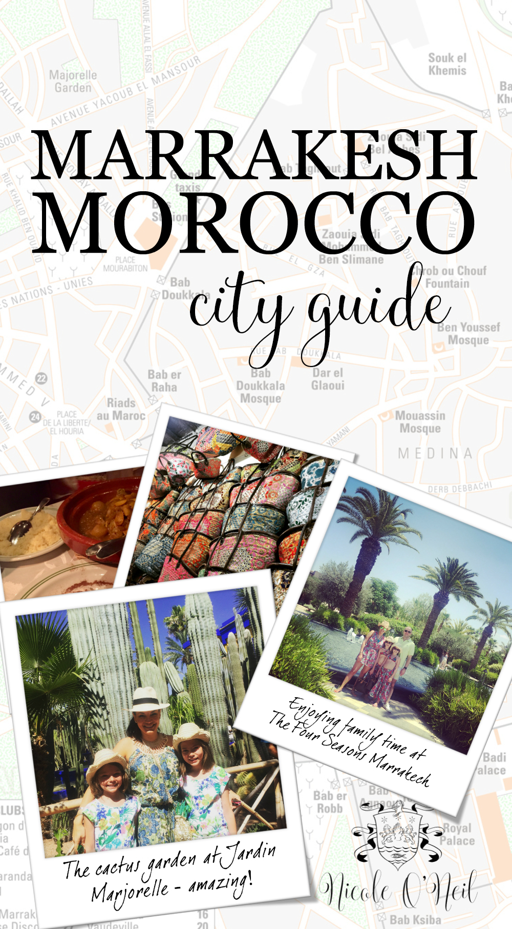 Nicole O'Neil's Complete Travel Guide to Marrakesh, Morocco - Find out the best places to shop, eat and explore in Marrakesh as The Real Housewives of Sydney's Nicole O'Neil shares her firsthand experiences and travel snaps in this Marrakesh City Guide.
