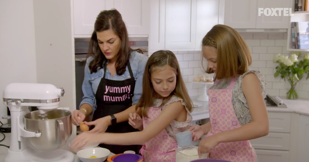 Baking  our favourite cupcake recipe  together (as seen on RHOS)