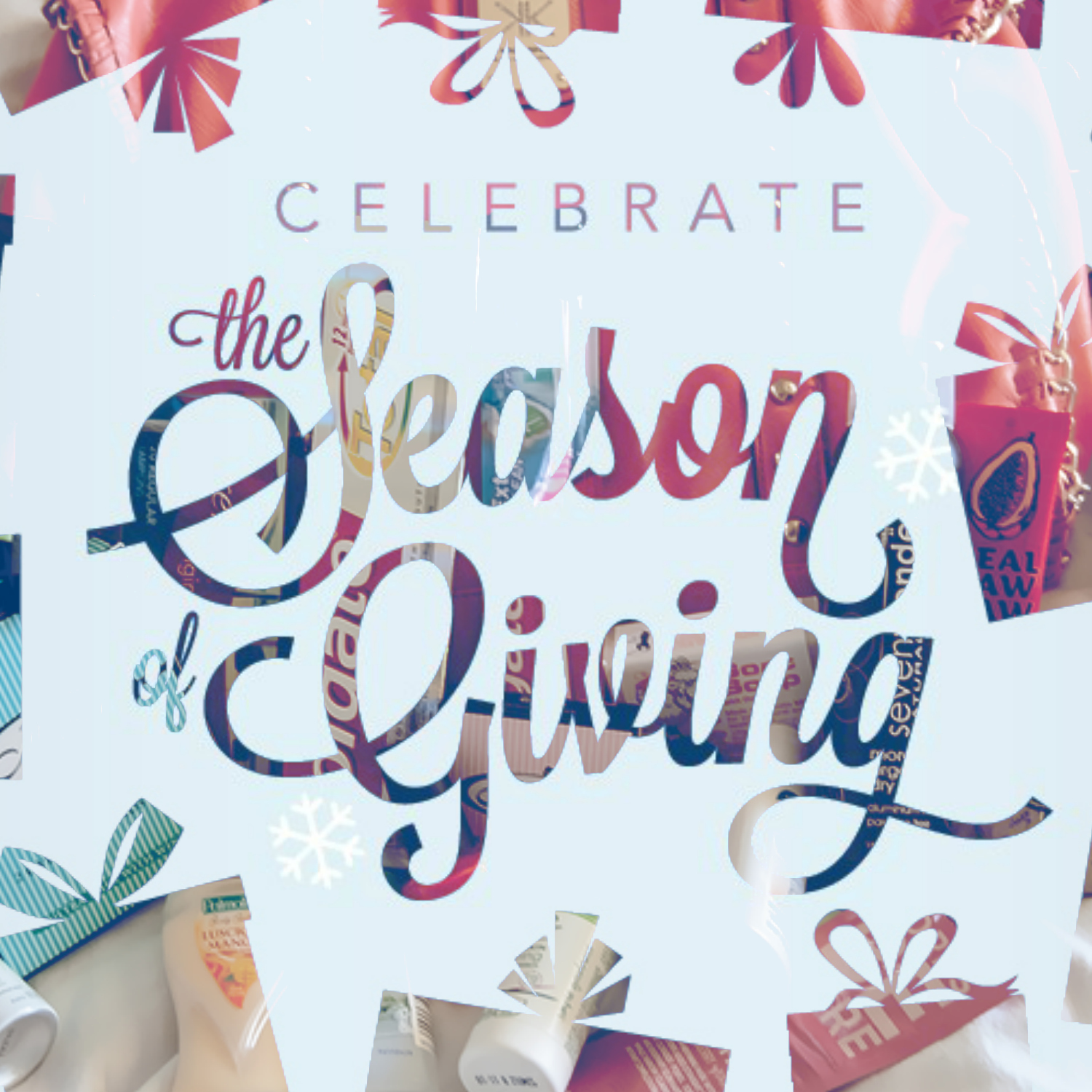 Celebrate the Season of Giving - The Best Christmas Charity Campaigns - Share the Dignity Its in the Bag
