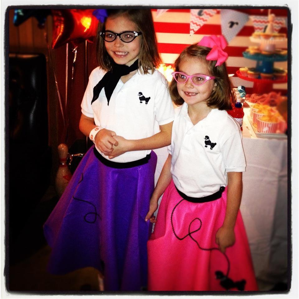 Poodle Skirts Halloween Costume Ideas