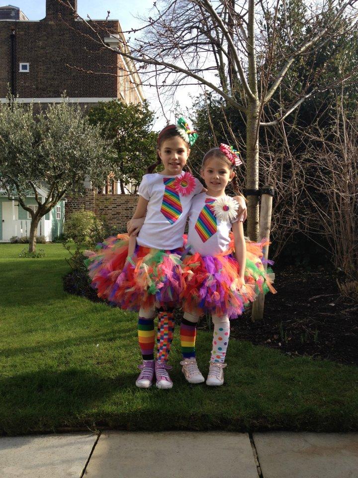 Rainbow Halloween Costume Ideas