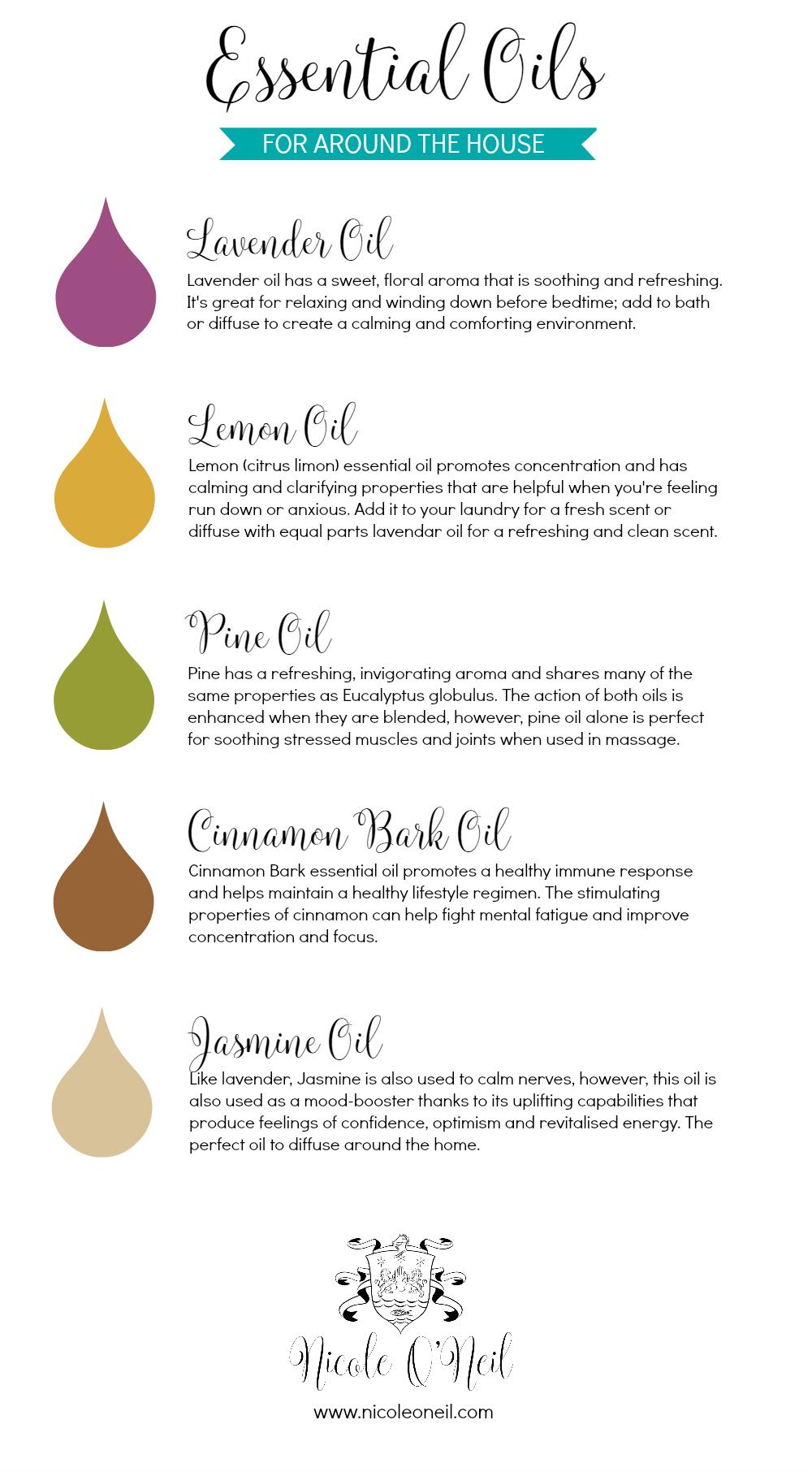 Essential Oils for Around the House - Nicole O'Neil .jpg