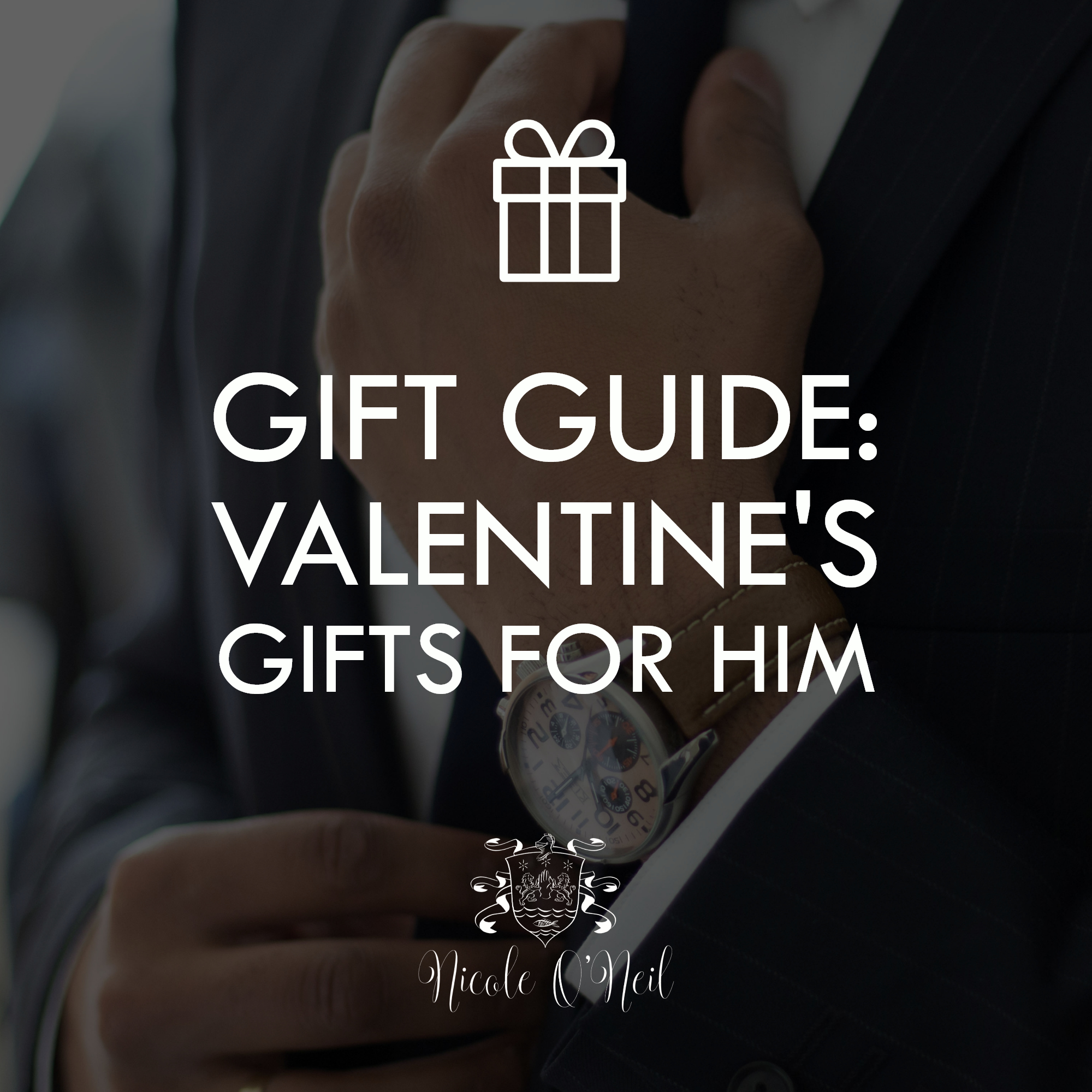 Need Valentine's Day Gift Ideas? This Valentine's Gift Guide for him features the perfect round up of gift ideas for your boyfriend, husband, fiance or any other guy in your life! Whether you're celebrating Valentine's Day, an anniversary or just want to spoil someone special, there's something for everyone.