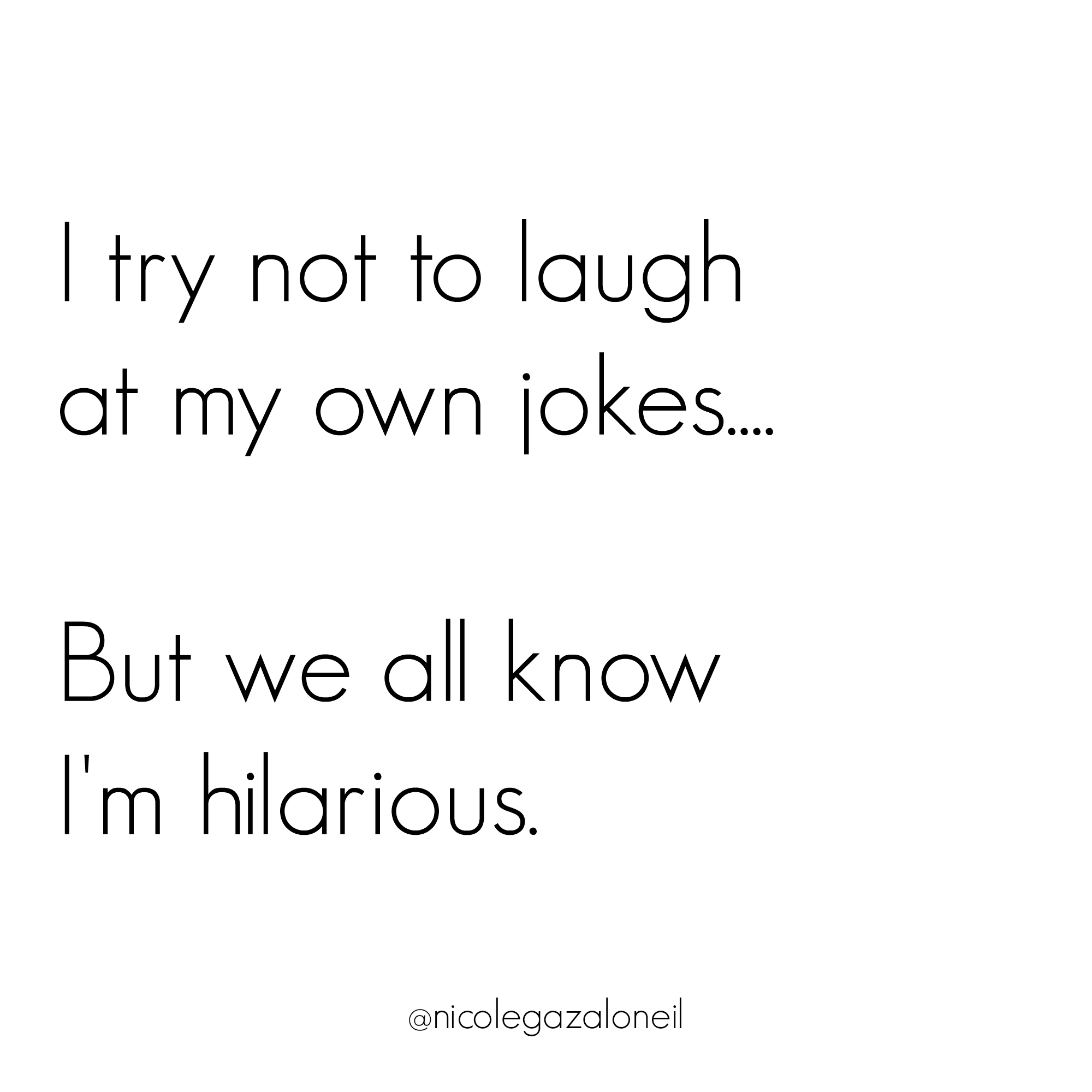 I try not to laugh at my own jokes but we all know I'm hilarious.jpg