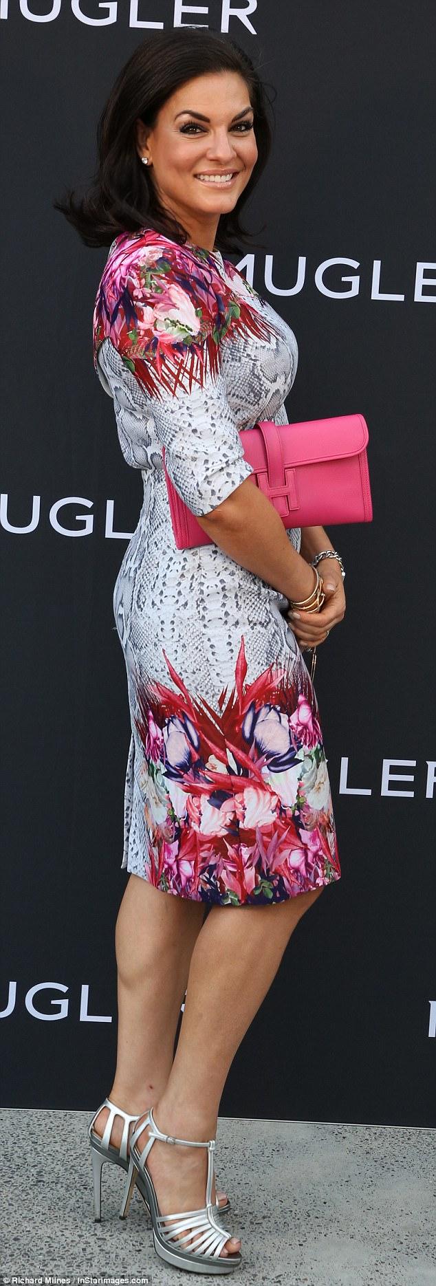 Nicole O'Neil at the Mugler Fragrance Launch -.jpg