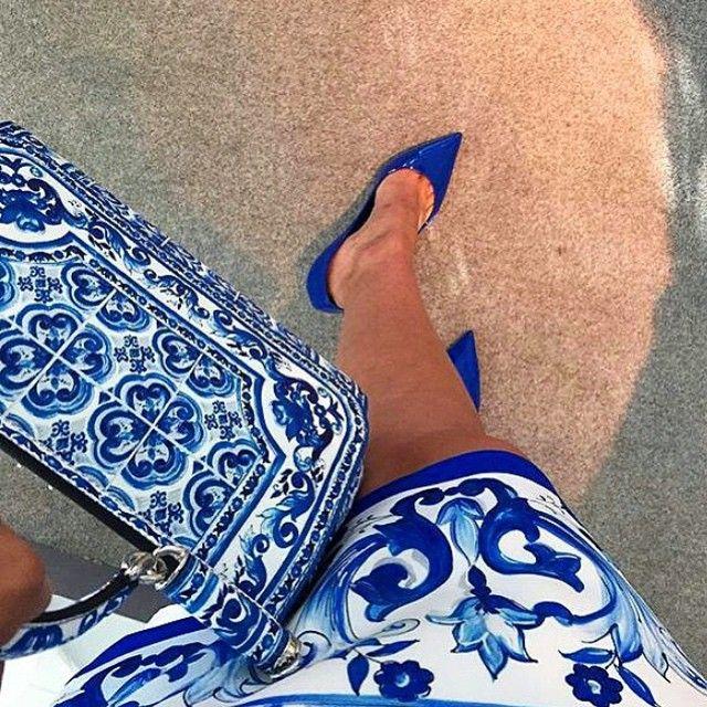 Dolce and Gabbana Majolica Tile Dress.jpg