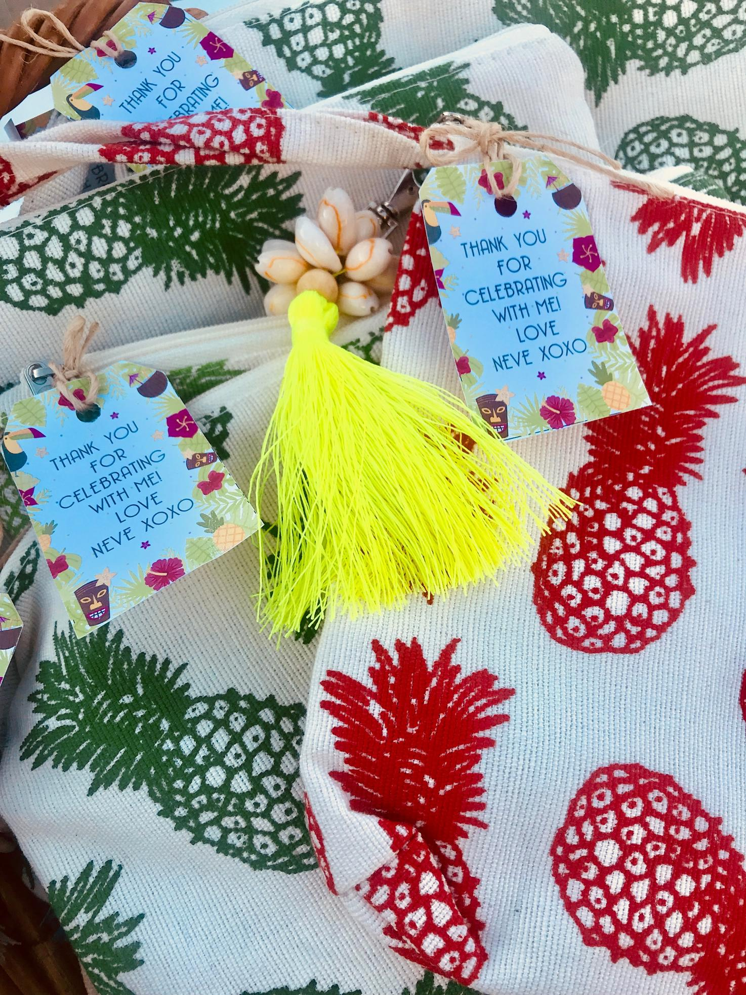 Hawaiian Luau Pool Party Favours