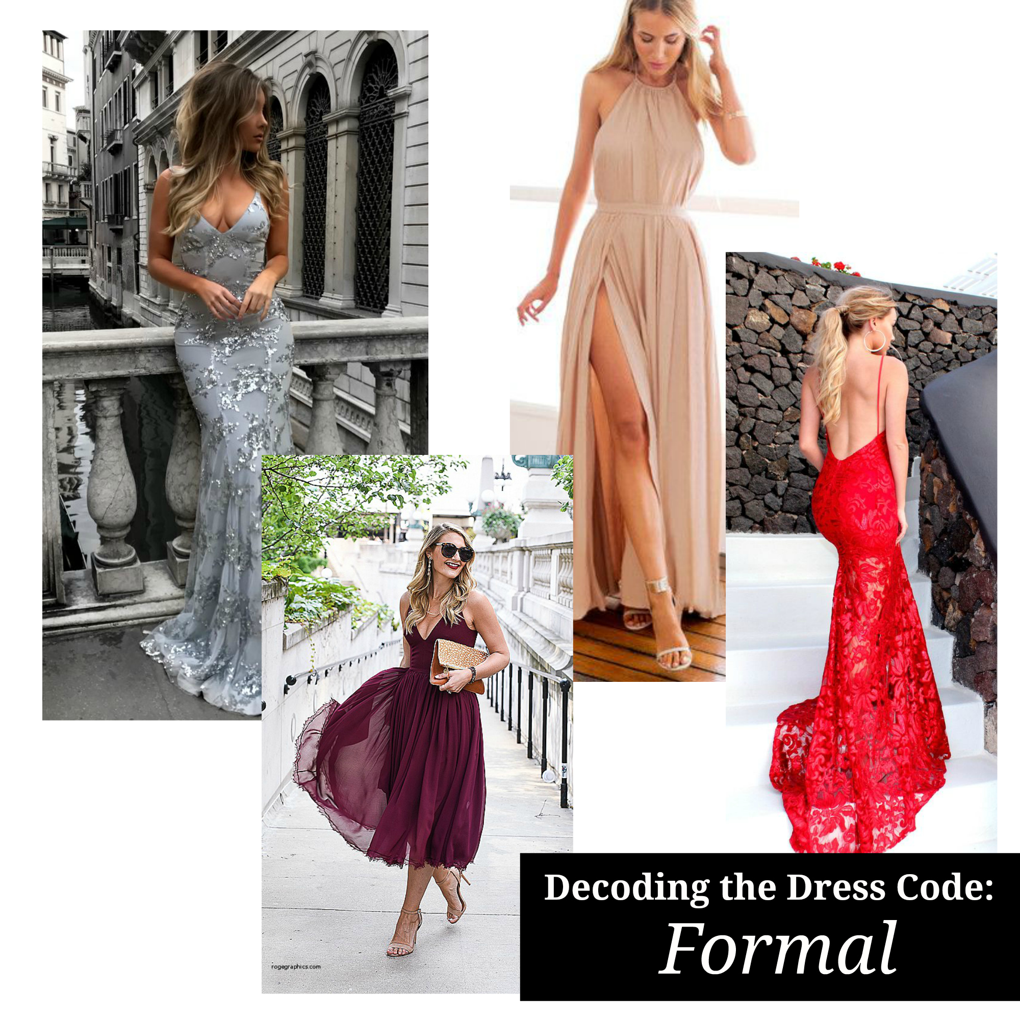 Decoding the Dress Code - What to Wear to a Formal Wedding or Event
