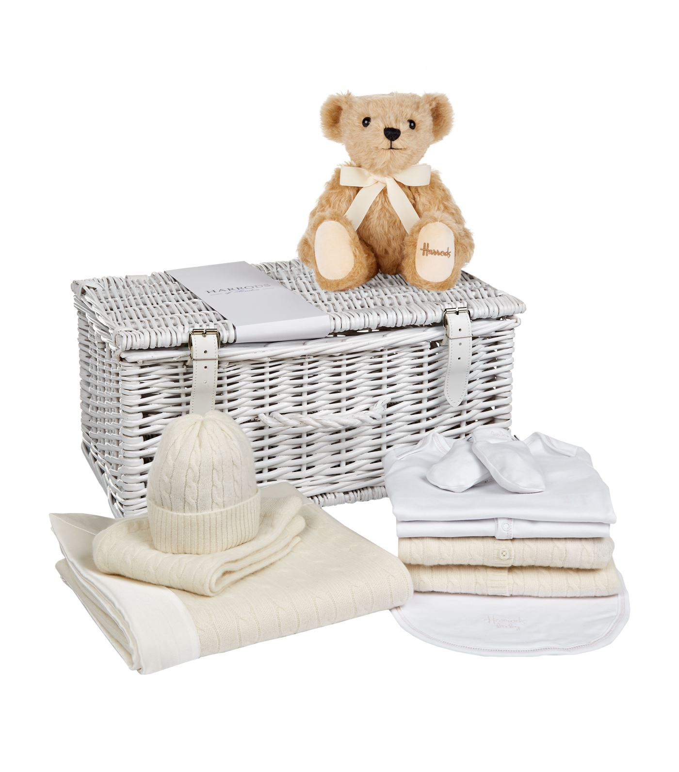 Gift Ideas for a Royal Baby - English Trousseau Goodie Two Shoes Hamper.jpg