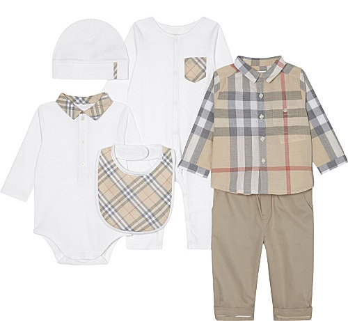 Gift Ideas for a Royal Baby - Burbery Six Piece Gift Set.jpg