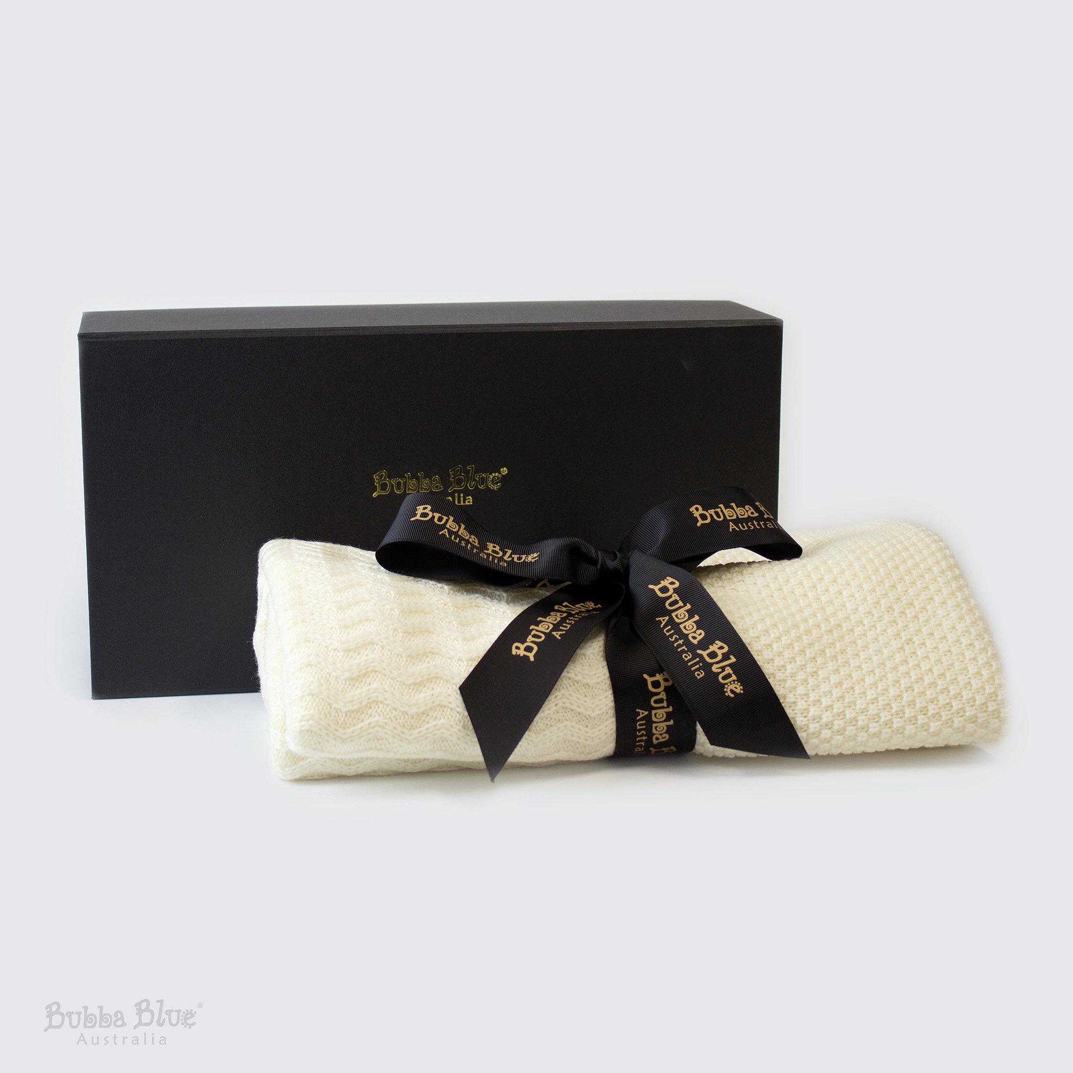Gift Ideas for a Royal Baby - Bubba Blue Merino Wool Blanket.jpg