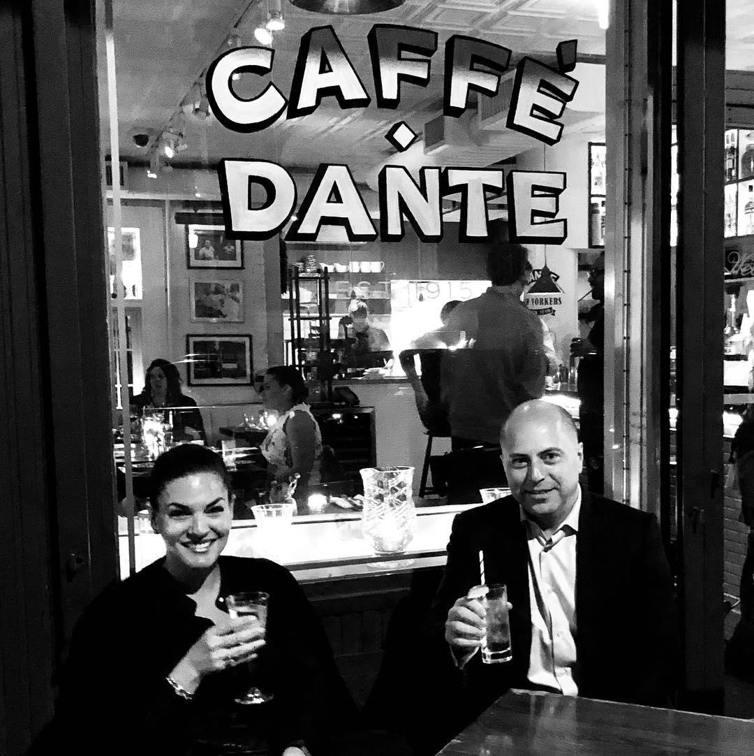 Adam and Nicole at Cafe Dante.jpg