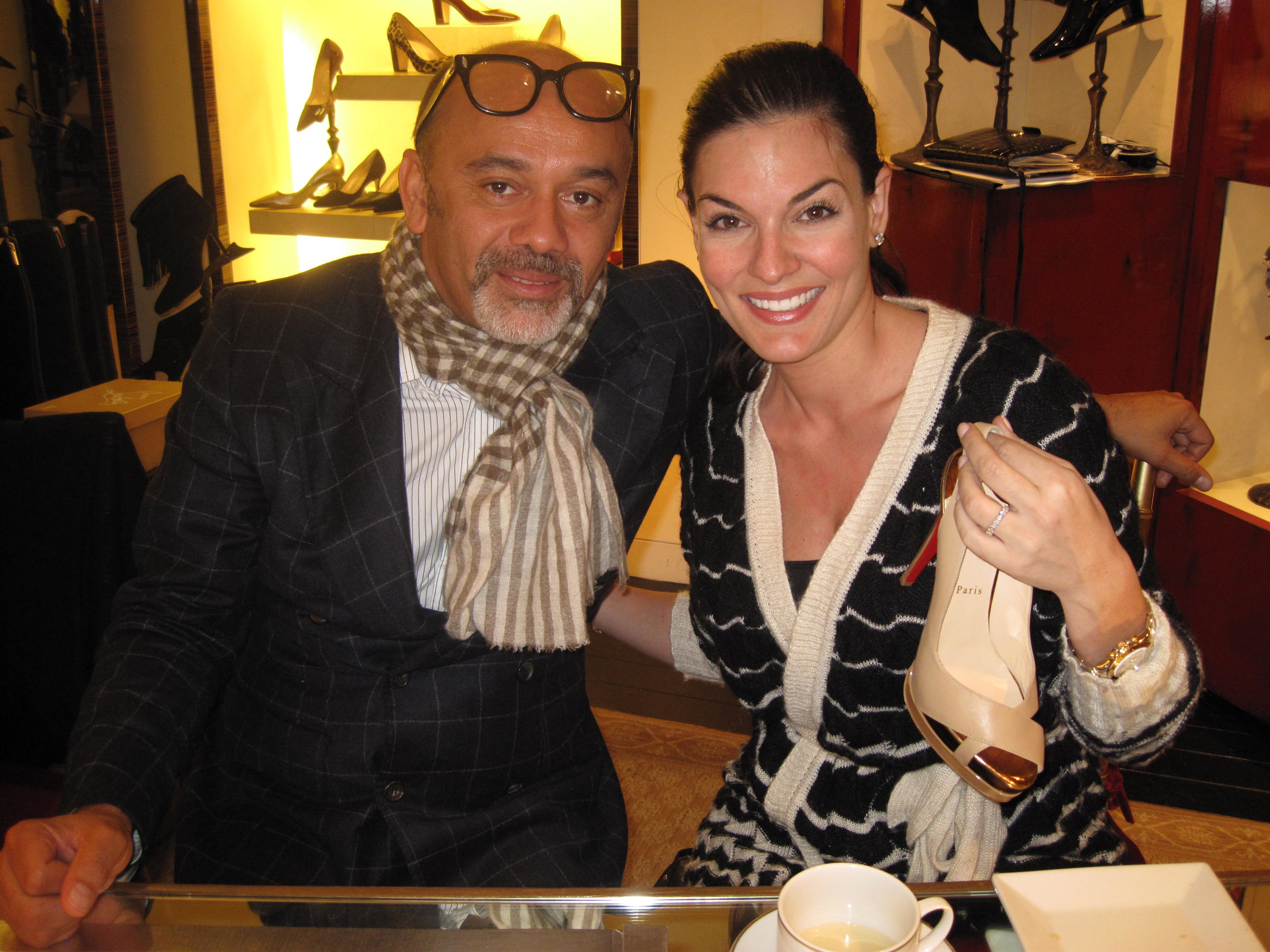 Nicole O'Neil and Christian Louboutin in New York.jpg