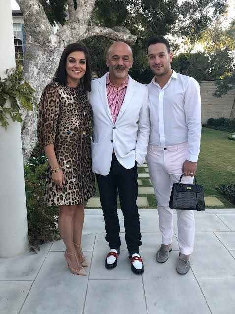 Nicole O'Neil and Joshua Palmer Penn with Christian Louboutin - Facts You Didn't Know About Christian Louboutin Shoes